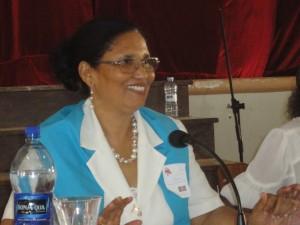 Sra Fatima Sanches, presidente da Associacao dos Professores Católicos