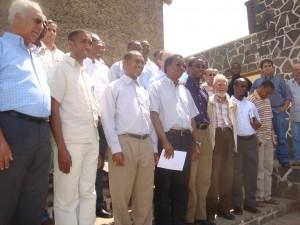 Dom Arlindo e padres - Reciclagem sobre a Doutrina Social da Igreja