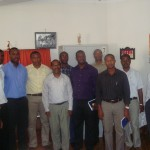 Dom Arlindo e um grupo de padres diocesanos