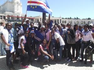 os jovens cabo-verdianos participam na Jornada mundial da Juventude em Espanha