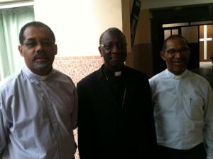 Dom Ildo, Cardeal Jacques Sarr e Dom Arlindo